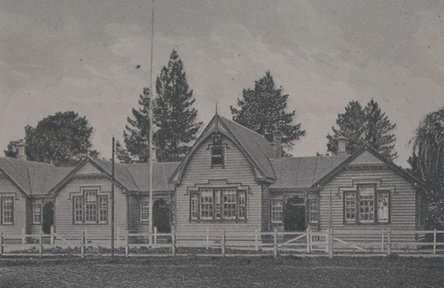 Cambridge Primary School in 1906