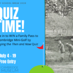 Then and Now quiz - July