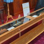 Exhibition of Dennis Davis tools at Cambridge Museum