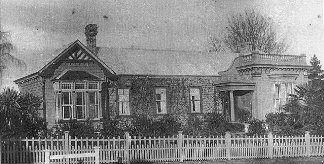 Thomas Wells' residence in Alpha Street