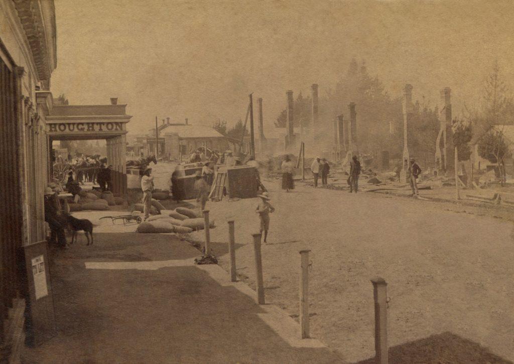 Duke Street Fire 1889