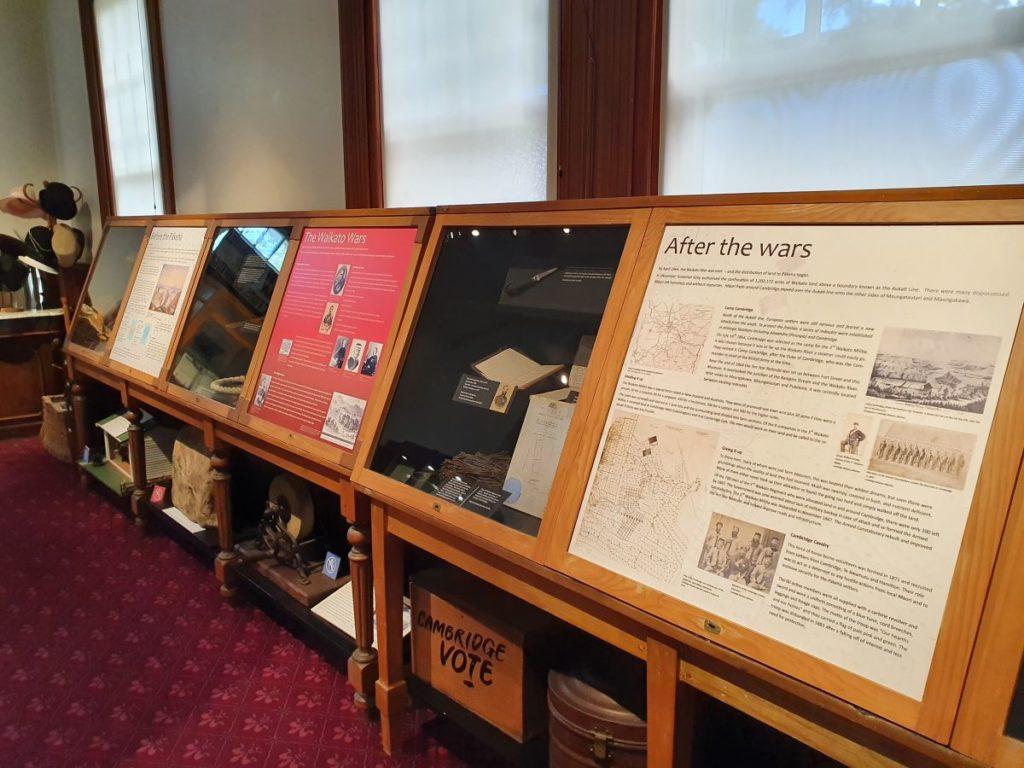 Early Cambridge exhibition