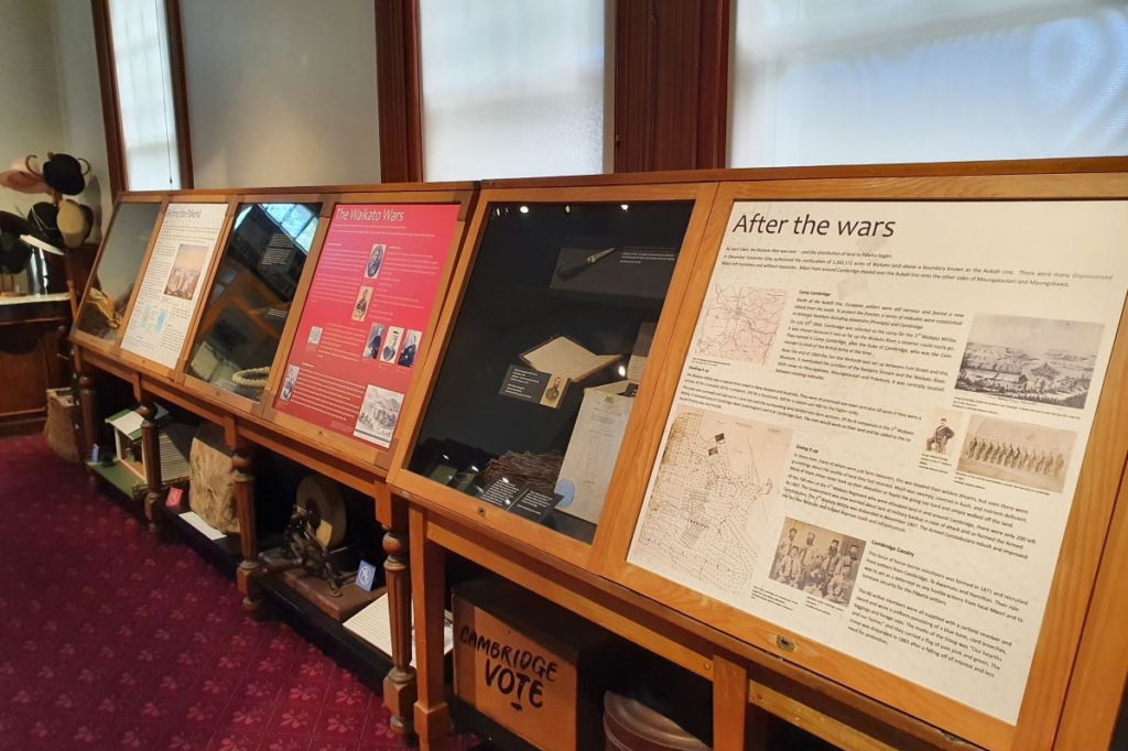 Taonga and artefacts from the Early Stories exhibition