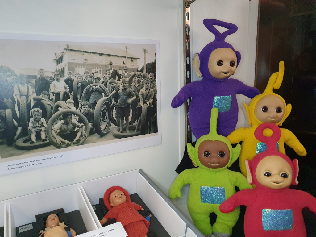 Toys from Cambridge Museum NZ